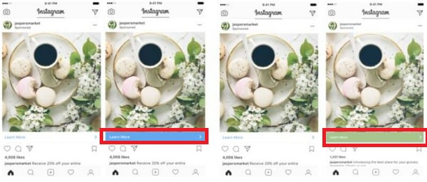 Instagram, Werbung, Call-to-Action, CTA