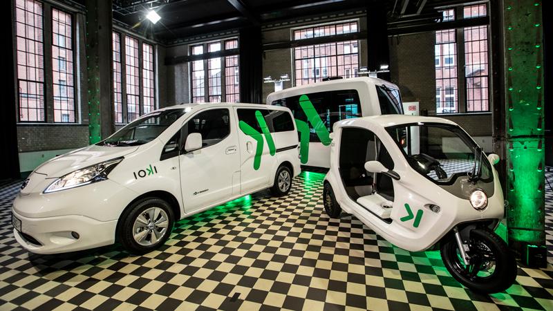 Drei Fahrzeuge für Ioki (Foto: Deutsche Bahn)