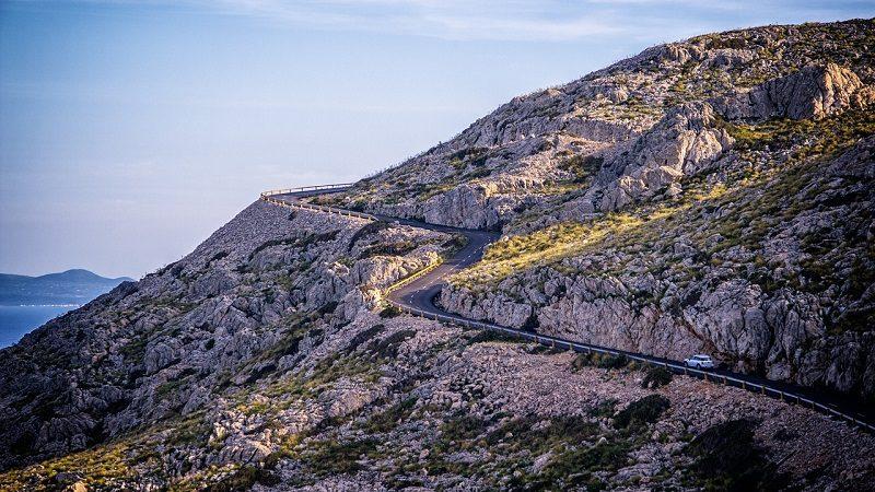 Auto Natur Landschaft Berge