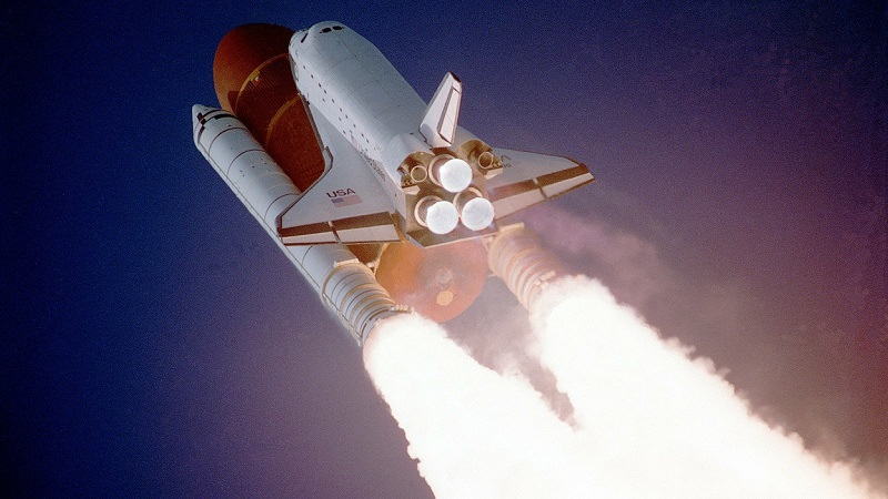 Raumschiff, Rakete, Space, Space Shuttle, Growth, Wachstum, Growth Hacking