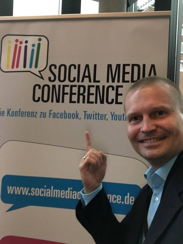 Social Media Conference, Hamburg, Empire Riverside