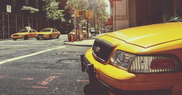 Uber, Taxi, New York, iPhone Screen
