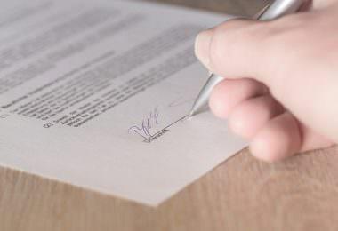 Vertrag, Unterschrift, Gesellschaftsvertrag, Regelungen