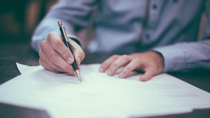 Vertrag, Gründung, Unternehmensgründung, Unterschrift