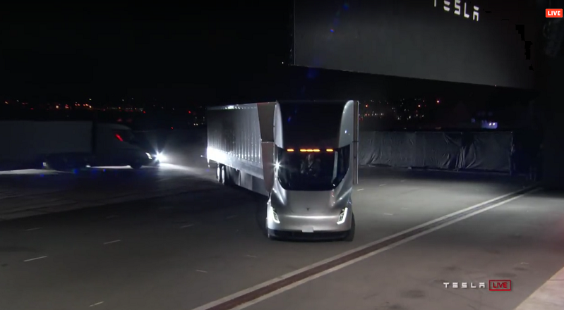 Tesla Semi Truck Eröffnung