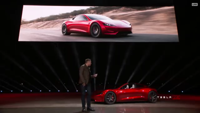 Tesla Roadster neuer Prototyp
