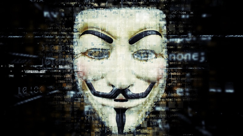 Anonym, Anonymous, Maske, Fake