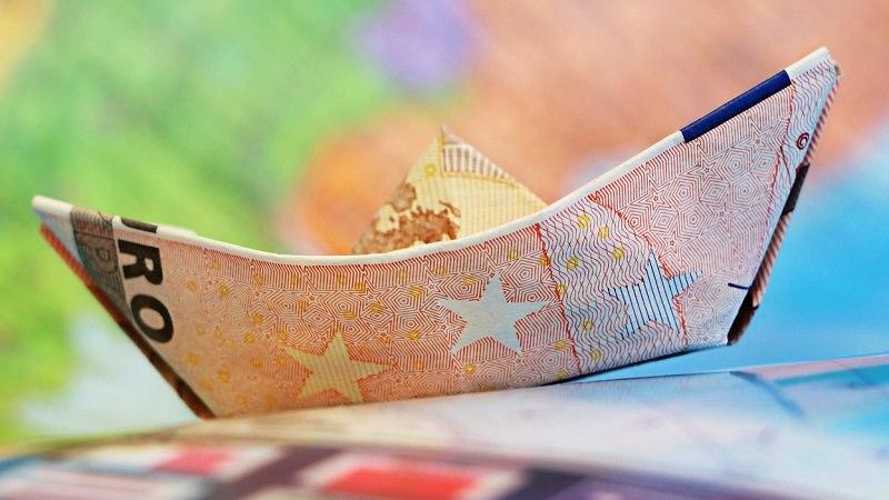 Euro, Geld, Scheine, Finanzen, finanzielle Ausstattung