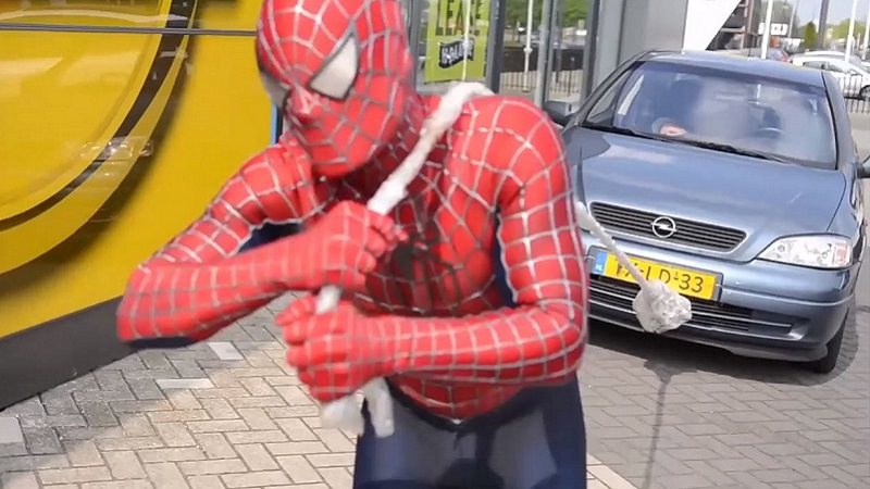 Opel, Spiderman, SpideyPlanet, YouTube, Opel Pay with Views