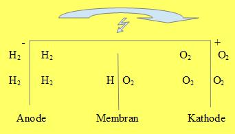 Brennstoffzelle Grafik