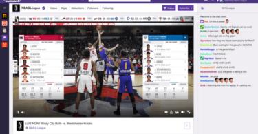Twitch streamt NBA G League