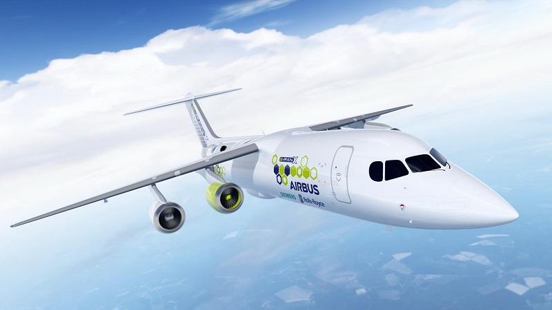 E-Flugzeug Siemens Rolls-Royce Airbus