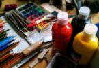 Maler, Malerei, Stifte, Farben, visuelle Kommunikation