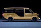Erst beim genaueren Hinsehen ein Volkswagen: das Shuttle von Moia (Bild: Moia)