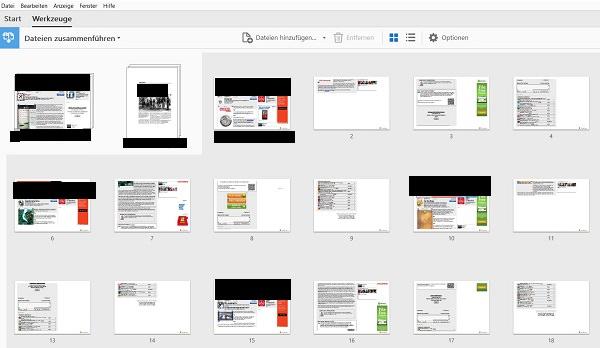 Adobe, PDF, Adobe Acrobat, Adobe Acrobat DC, PDF-Dateien zusammenfügen