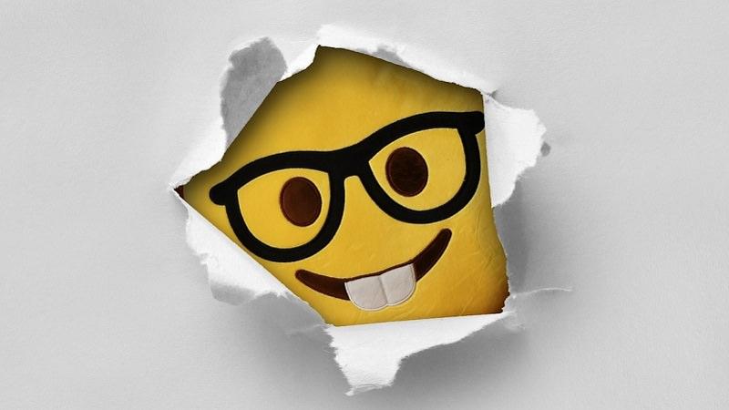 Emoji, Emojis, Smiley, Smileys. Nerd