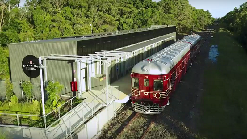 Byron Bay Train Solarzug