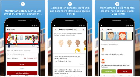 Ticketsharing Mitfahr-App Nürnberg VAG