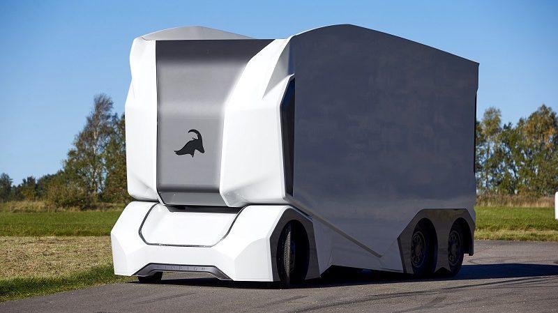 Einride T-pod fahrerlose E-Trucks