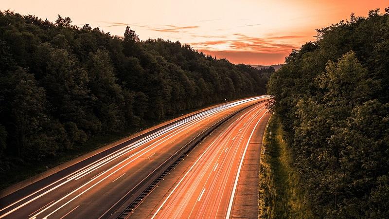 Straße Zukunft der Mobilität