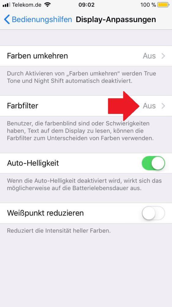 Iphone Schwarz Weiß Modus