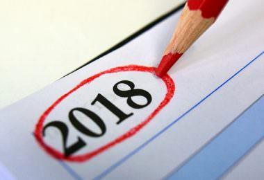 2018, Kalender, Trends, PR-Trends