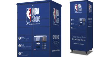NBA Store bietet Self-Service-Schließfächer für Online-Bestellungen