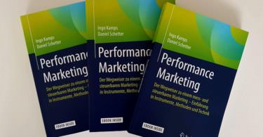 Performance Marketing Buch, Ingo Kamps, Daniel Schetter