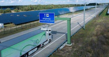 Siemens eHighway Oberleitung