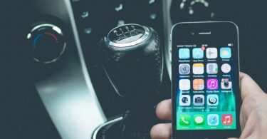 Smartphone Auto Handy Steuer