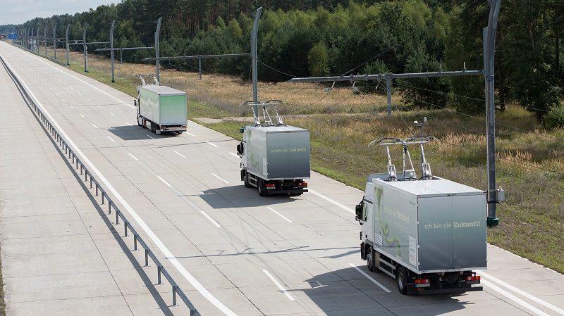 Siemens eHighway Kalifornien Hessen Mobil