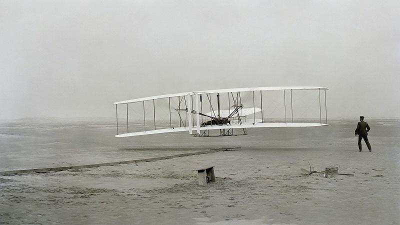 Brüder Wright Flyer Kitty Hawk
