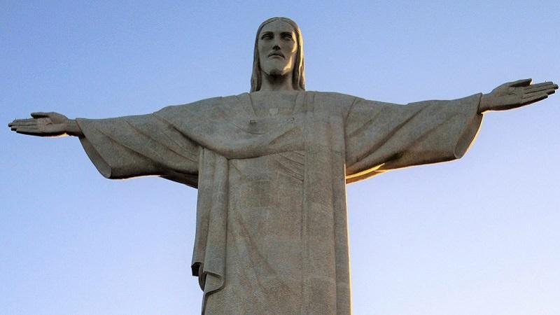 Brasilien, Rio de Janeiro, Cristo Redentor, Jesus Christus, Facebook-Boykott
