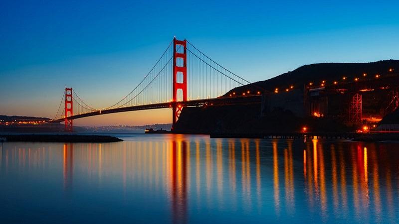 Kalifornien, San Francisco, Golden Gate Bridge, Bay Area, Mitarbeiter