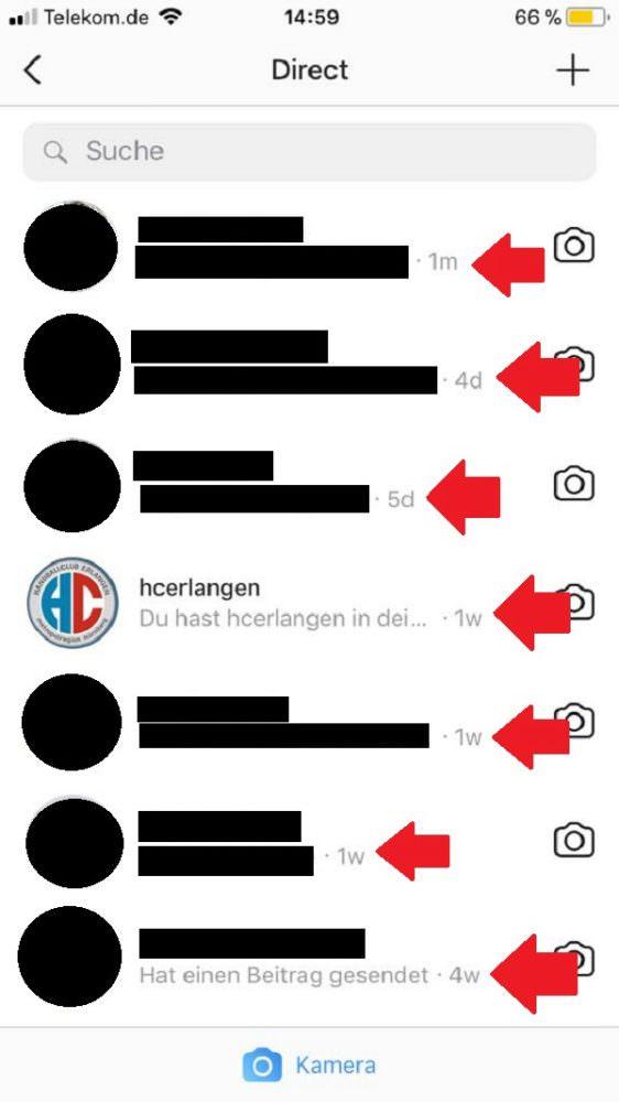 Instagram, Online-Status, Überwachung, Zuletzt Online