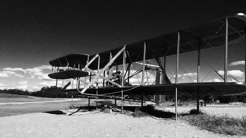 Brüder Wright Flyer Kitty Hawk