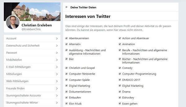Twitter, Tracking, Ad Tracking