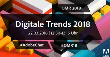 Online Marketing Rockstars, OMR, OMR18, Adobe-Chat