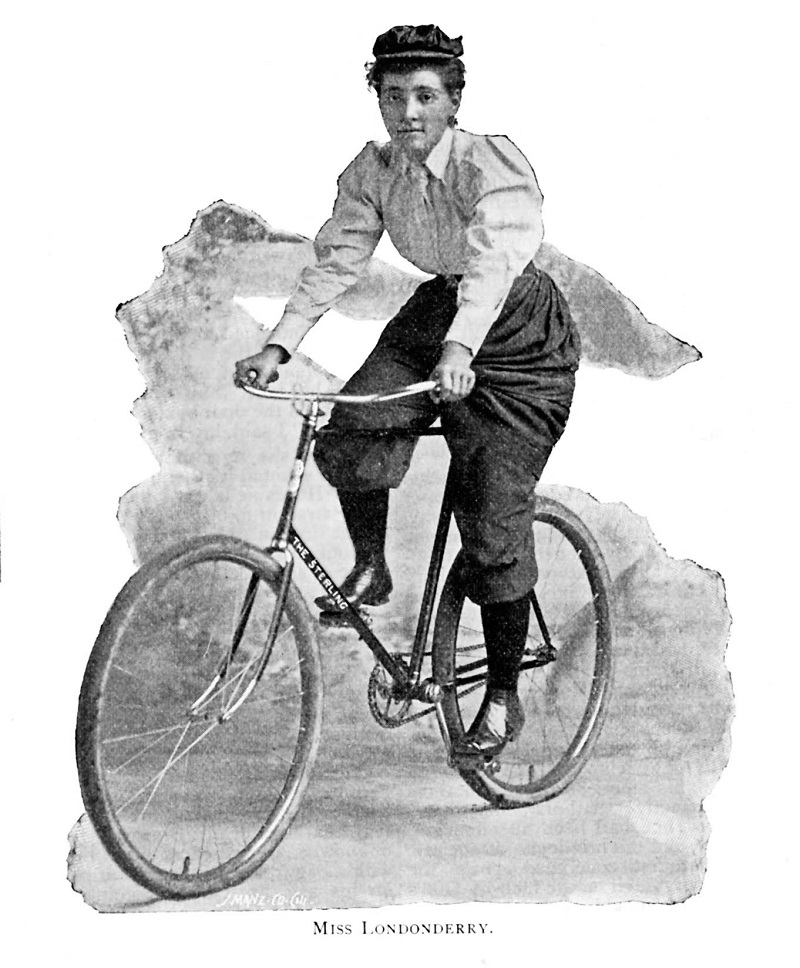 Annie Londonderry The Sterling Hosen Fahrrad