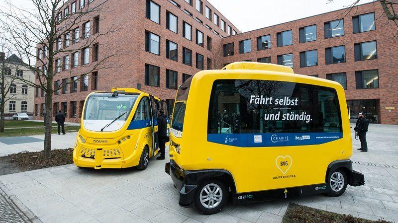 BVG autonome Minibusse Charité