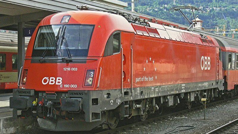 ÖBB Österreich Zug