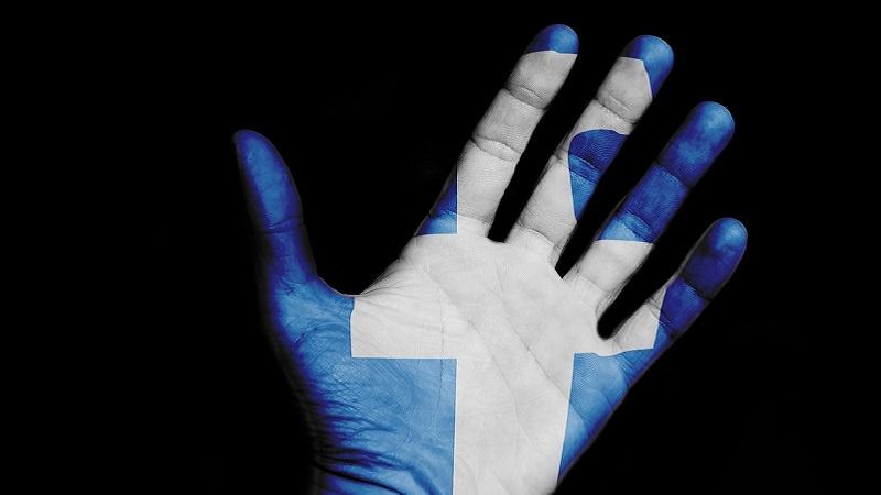 Facebook, Bye Bye, Hand, Logo, Explore Feed