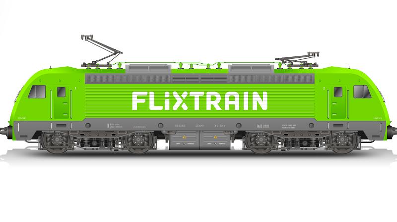 Flixtrain Grafik