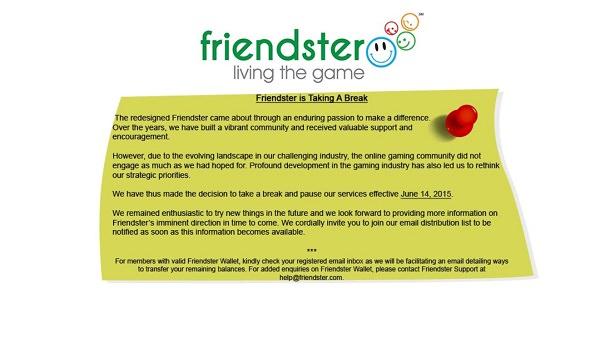 Friendster, soziale Netzwerke