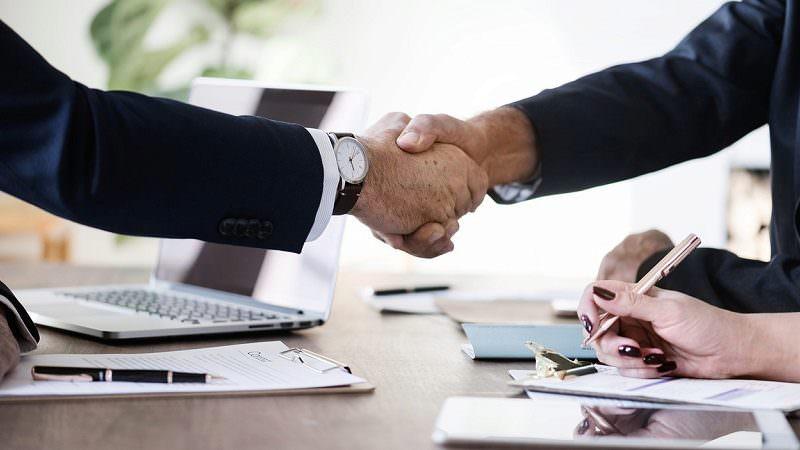 Handschlag, Kooperation, Vereinbarung, Business Angels