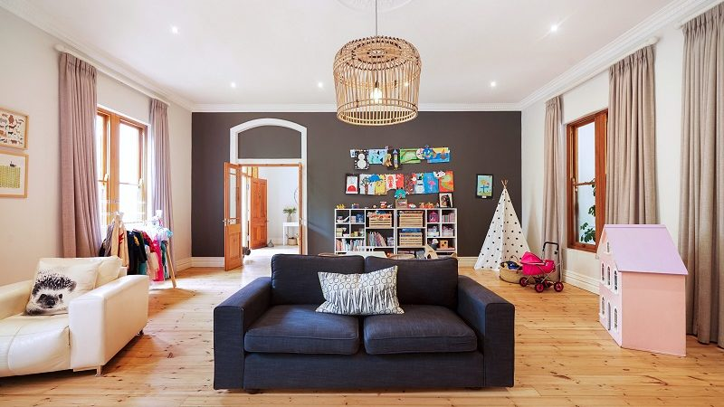 Airbnb Plus Wohnzimmer