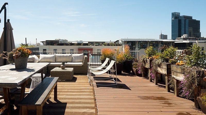 Airbnb Plus Dachterrasse