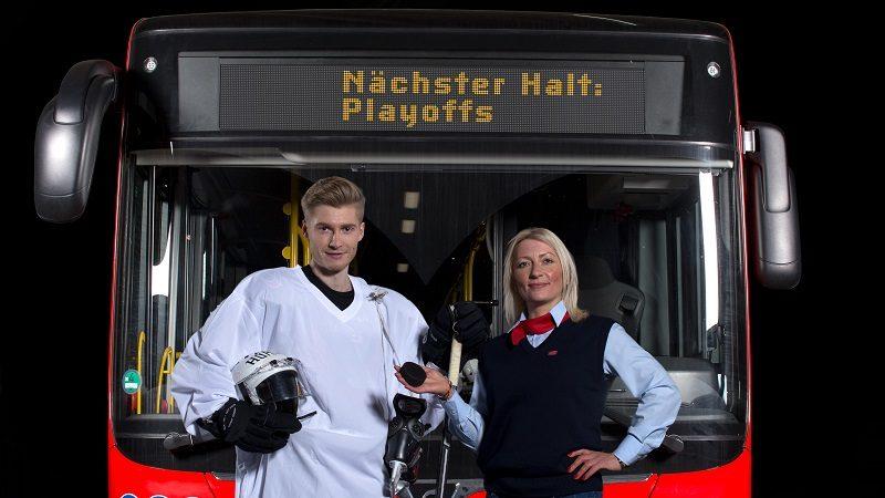 Imagekampagne Busfahrer DB Regio Nächster Halt Playoffs