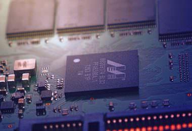 Leiterplatte, Platine, Hardware, Software, Daten, Künstliche Intelligenz, KI