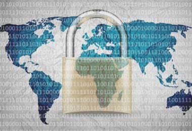 Schloss, Sicherheit, Daten, Weltkarte, KeePass